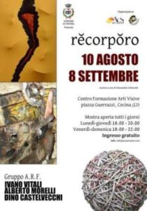 Recorporo: la mostra collettiva