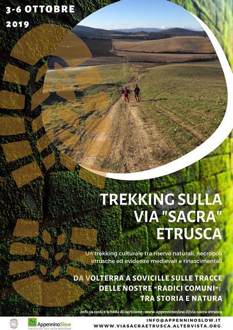 Trekking sulla via Sacra Etrusca