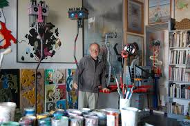 L'artista in studio