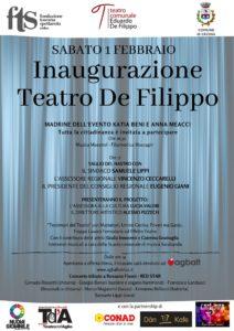 Inaugurazione Teatro