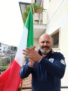 Samuele Lippi con il tricolore