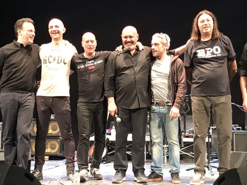 La band RossoFuoco