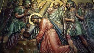 Gesù con la croce