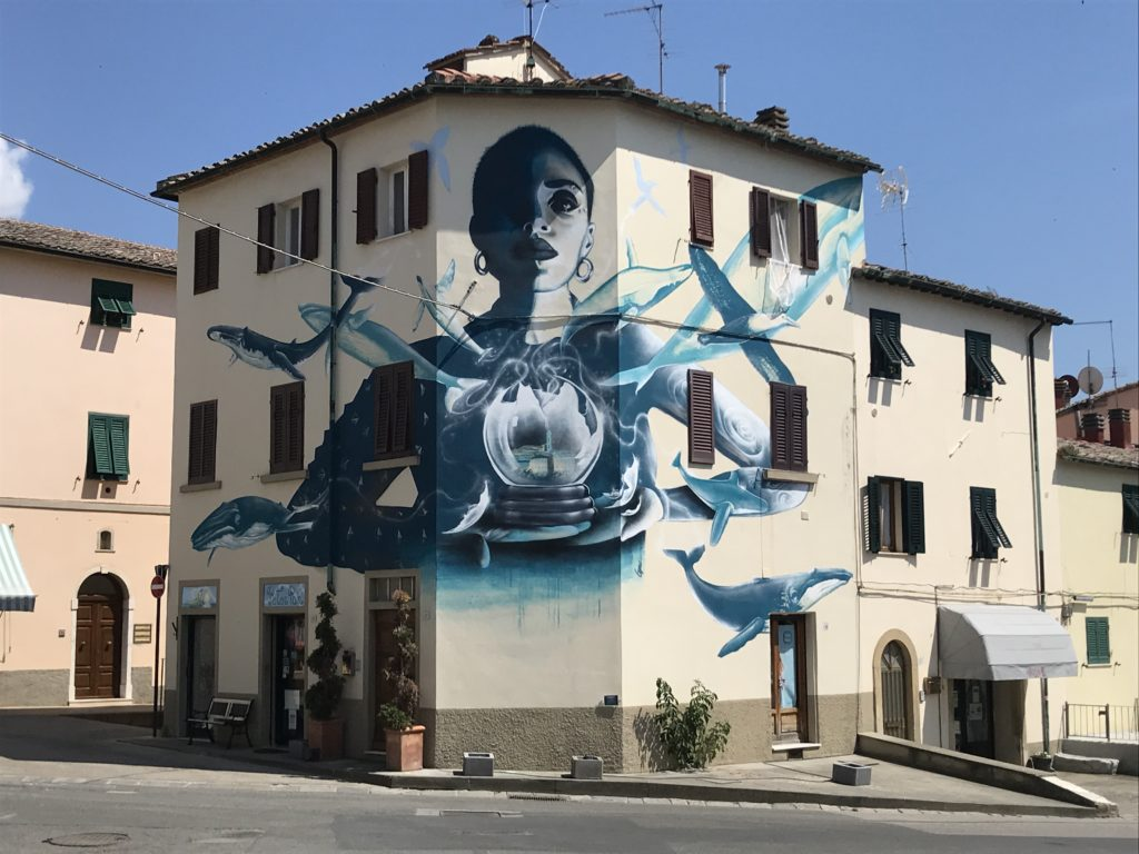 Murales a. Castelnuovo Val di Cecina