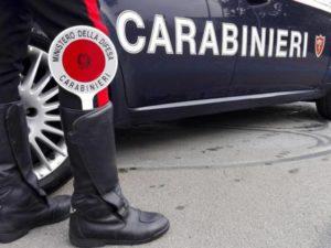 carabinieri auto e paletta