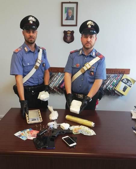 Carabinieri con refurtiva