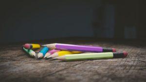 matite sul tavolo