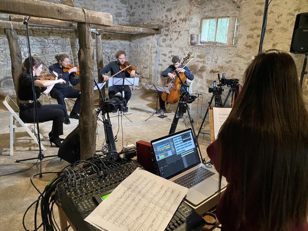 Concerto del quartetto d'archi con la compositrice