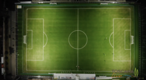 Stadio Cecina dall'alto