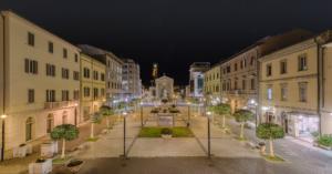 Piazza Guerrazzi e Piazza Duomo, Cecina