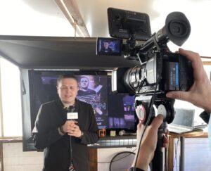 Buselli durante intervista di Toscana.Live