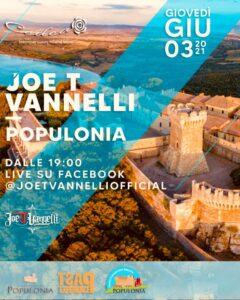 Joe T Vannelli in tour