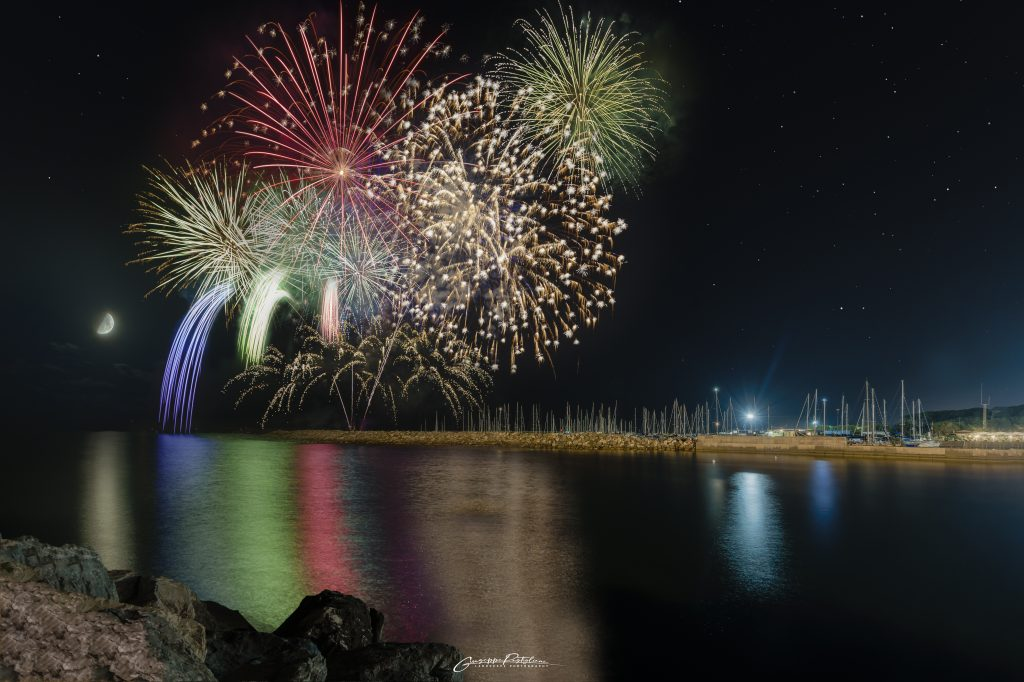 Fuochi d'Artificio a Marina di Cecina